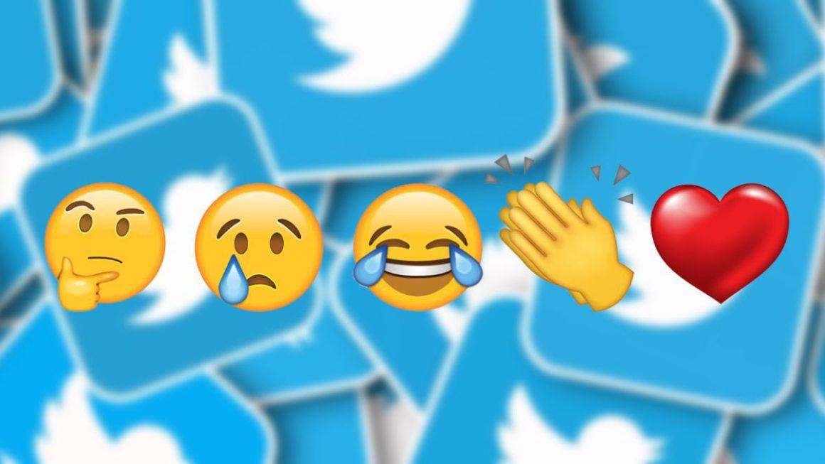 Twitter también prueba las reacciones con emojis en sus publicaciones