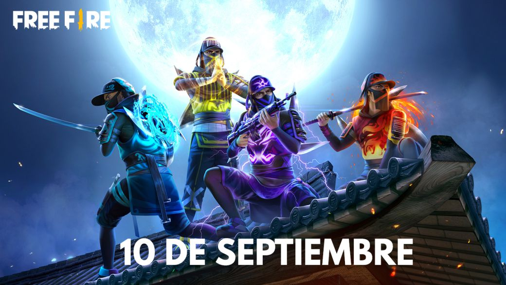 Today's Free Fire Codes September 10, 2021;  all free rewards