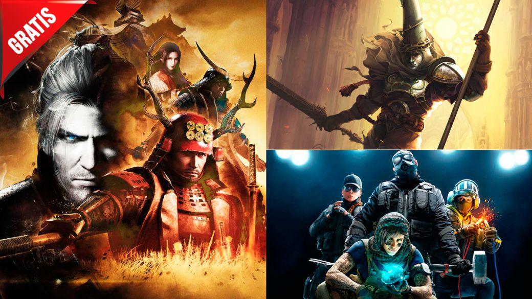Juegos gratis fin de semana Blasphemous ofertas Rainbow Six Siege Nioh: The Complete Edition PS5 PS4 Xbox Series X PC Steam PS Store