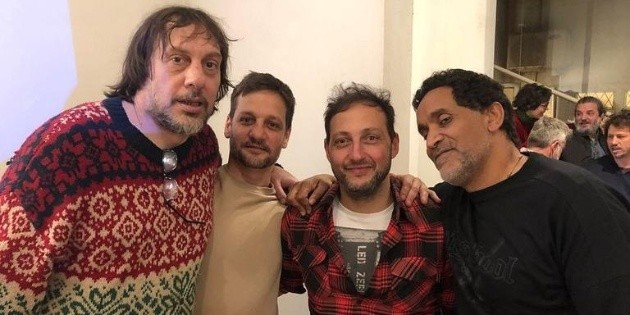 The reunion of the protagonists of Okupas 20 years after its premiere