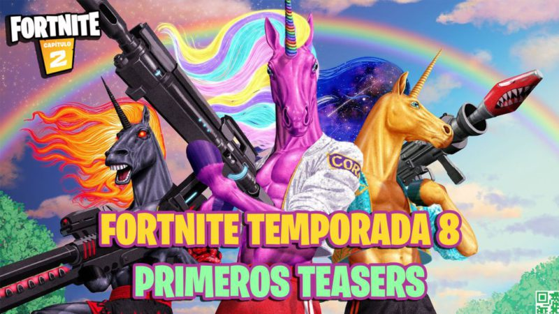 Fortnite Season 8: this is how its first teasers are