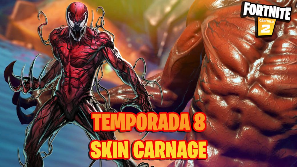 Marvel's Fortnite Season 8: Carnage / Carnage will be a skin