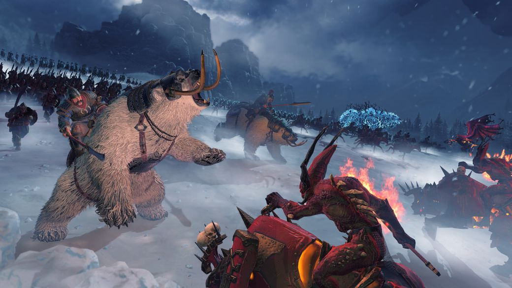 Total War Warhammer 3 delayed its release until early 2022;  release