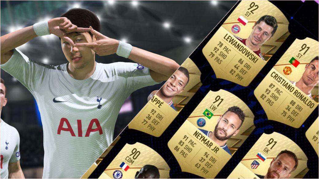 FIFA 22 mejores jugadores estadísticas FUT