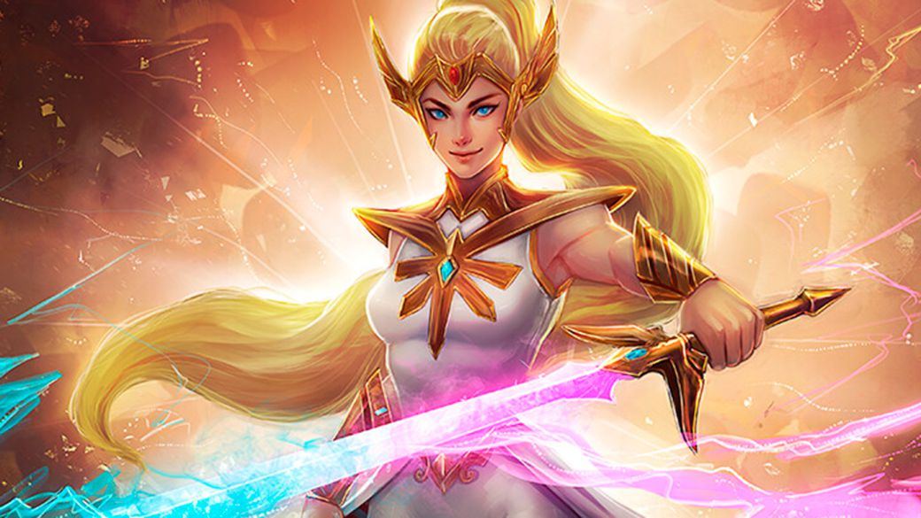 In development a new Amazon live-action TV series about She-Ra without He-Man