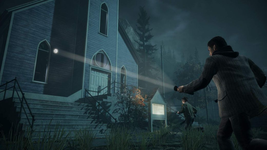 Alan Wake Remastered removes product placement from the game
