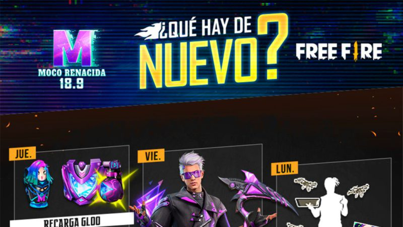 Free Fire: weekly schedule from September 14 to 20 with Renacimiento de Moco and Torre del Rey