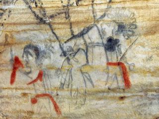 Venden una cueva con antiguos dibujos nativos americanos por más de dos millones de dólares