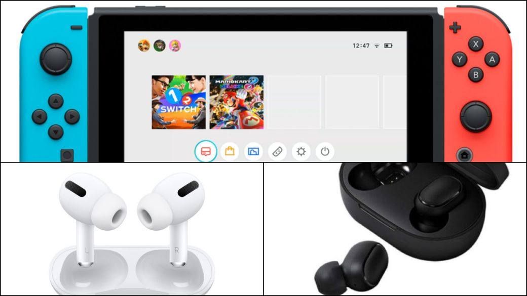 Nintendo Switch is updated to version 13.0.0: Bluetooth headphones and more news
