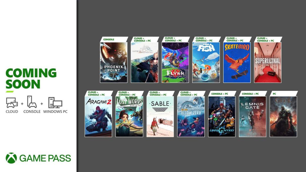 Xbox Game Pass announces 13 new games for the second half of September