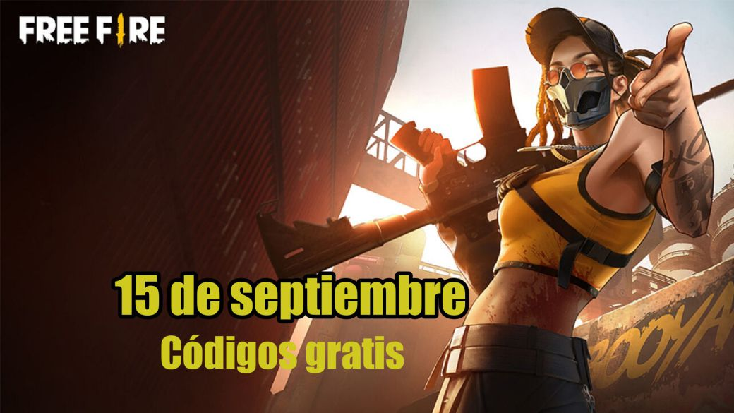 Today's Free Fire Codes September 15, 2021;  all free rewards