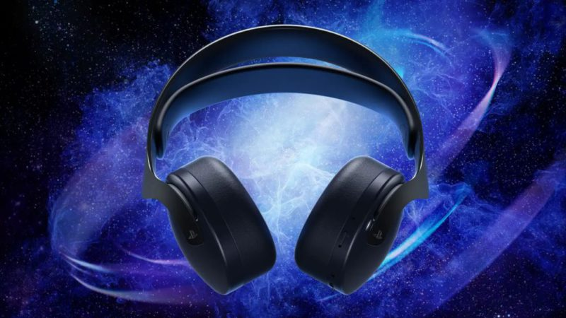 PS5: Pulse 3D helmets will receive a Midnight Black version with galactic-themed colors