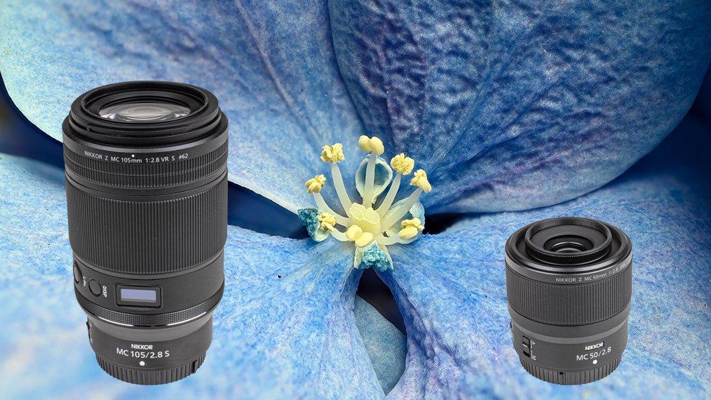 Macro lenses for the Nikon Z system in the test: Nikon Z MC 105mm and Nikon Z MC 50mm