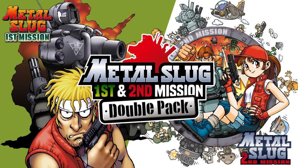 Metal Slug 1st & 2nd Mission Double Pack ya está disponible en Nintendo Switch