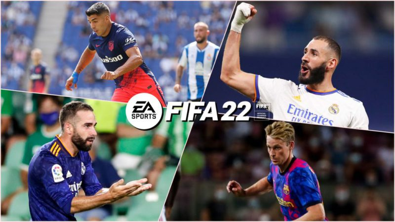 FIFA 22 shares the ideal LaLiga team: Suárez, De Jong, Carvajal, Oblak, Benzema ...