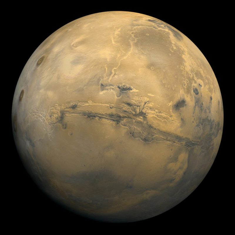 Colonization of Mars: Concrete replacement developed from blood, sweat and tears