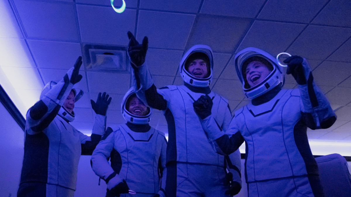 Inspiration4: For the first time, four laypeople started out into space alone