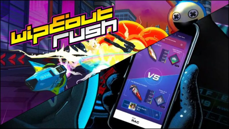 WipEout Rush, new installment of the saga for mobile devices;  first trailer