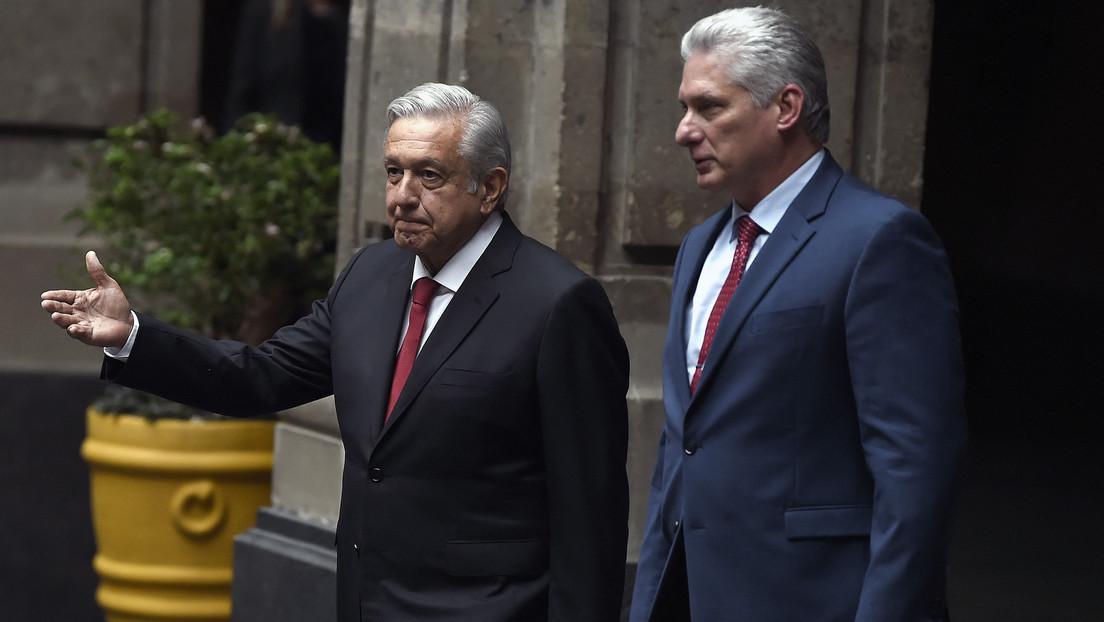 """López Obrador llama a Biden a poner """"fin para siempre"""" a la política de agravios hacia Cuba"""