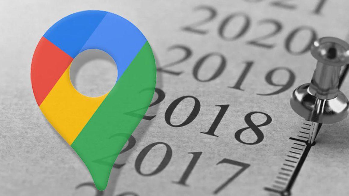 Así puedes viajar hacia atrás en el tiempo con Google Maps