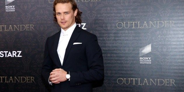 Sam Heughan leads the ranking of the world's highest paid actors