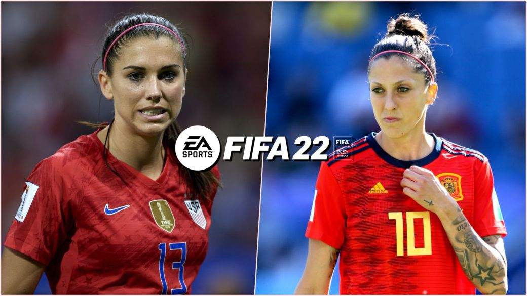 FIFA 22 shares the highest rated players in the game: Alex Morgan, Jenni Hermoso and more
