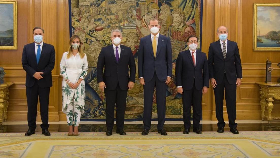 El Gobierno de España entrega la Gran Cruz de Isabel la Católica a Iván Duque y estalla la polémica