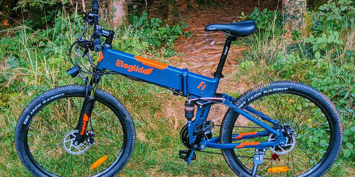 Cheap, cool, illegal: Eleglide F1 e-mountain bike for 700 euros in the test