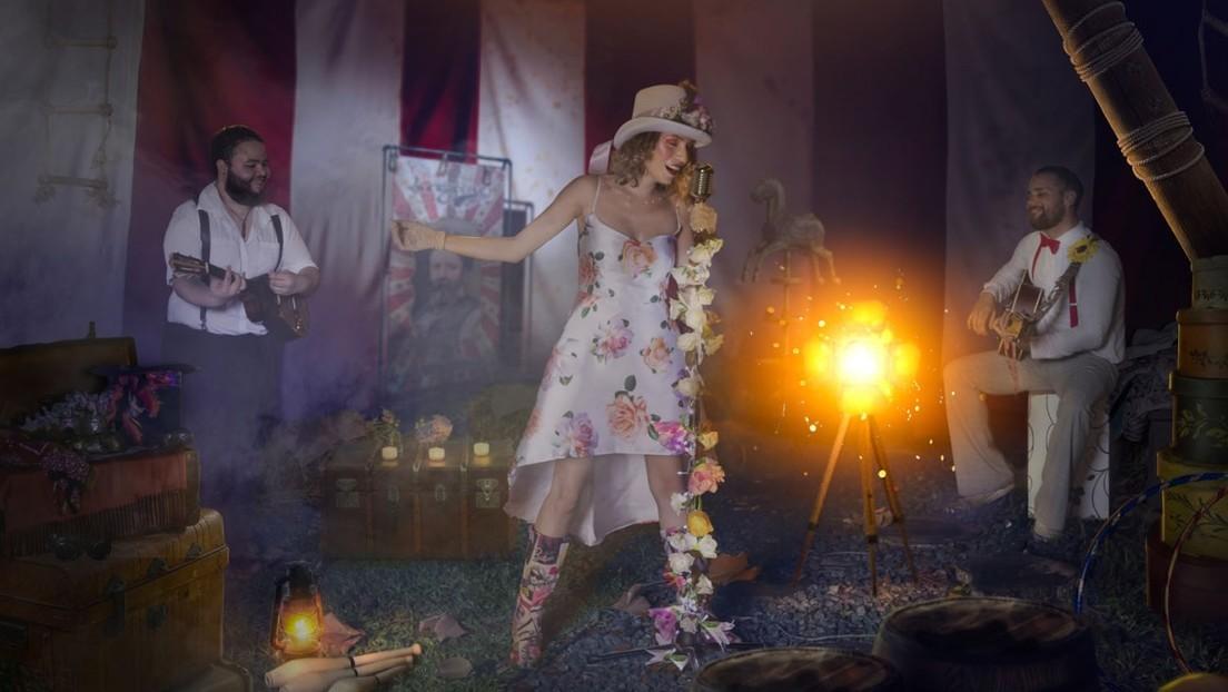 La Scène, la agrupación musical que convierte el reciclaje en arte para generar conciencia ambiental