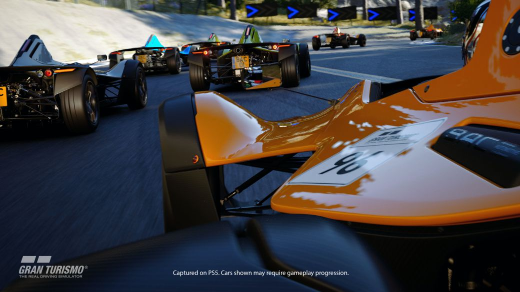 Gran Turismo 7 will offer two graphics modes on PS5;  there will be 4K and 60 FPS mode