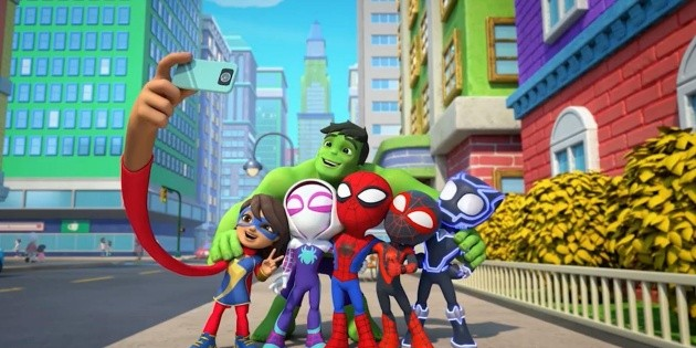 Spidey and his amazing friends: Marvel's new children's series comes to Disney +