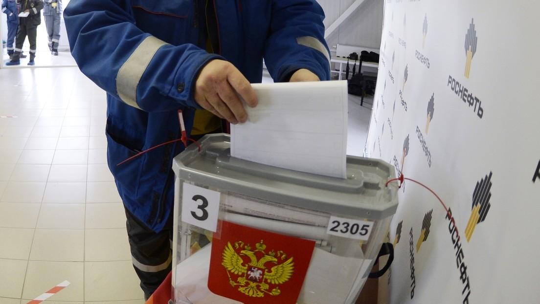"""""""Rusia necesita un Parlamento fuerte y con autoridad"""": Arrancan las elecciones legislativas en el país"""