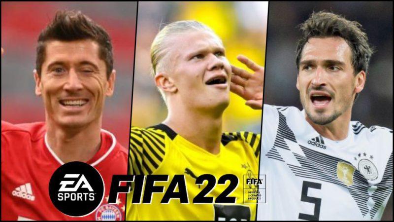 FIFA 22 reveals Bundesliga ideal eleven: Haaland, Lewandowski, Müller and more