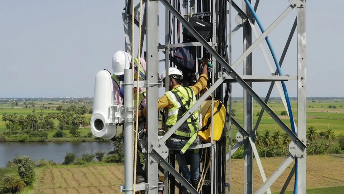 El laboratorio de Google conecta a dos países africanos por aire con Internet vía láser