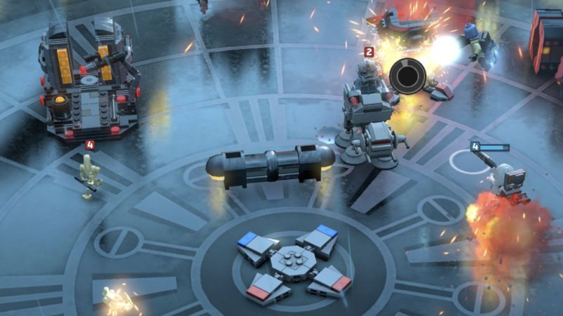 LEGO Star Wars Battles confirms release date at Apple Arcade
