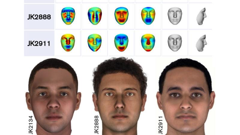 Reconstruyen las caras de momias egipcias a partir de su ADN de 2.000 años de antigüedad