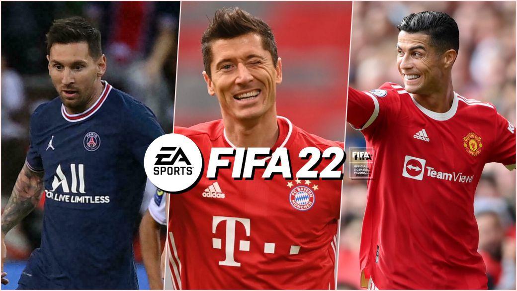 FIFA 22 100 mejores jugadores estadísticas