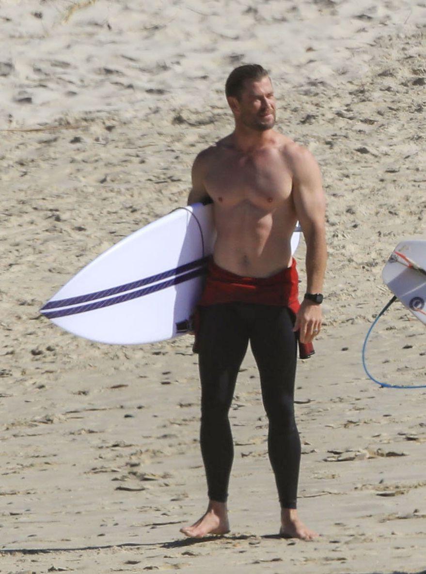 Chris Hemsworth. Photo Credits: (QLD1)
