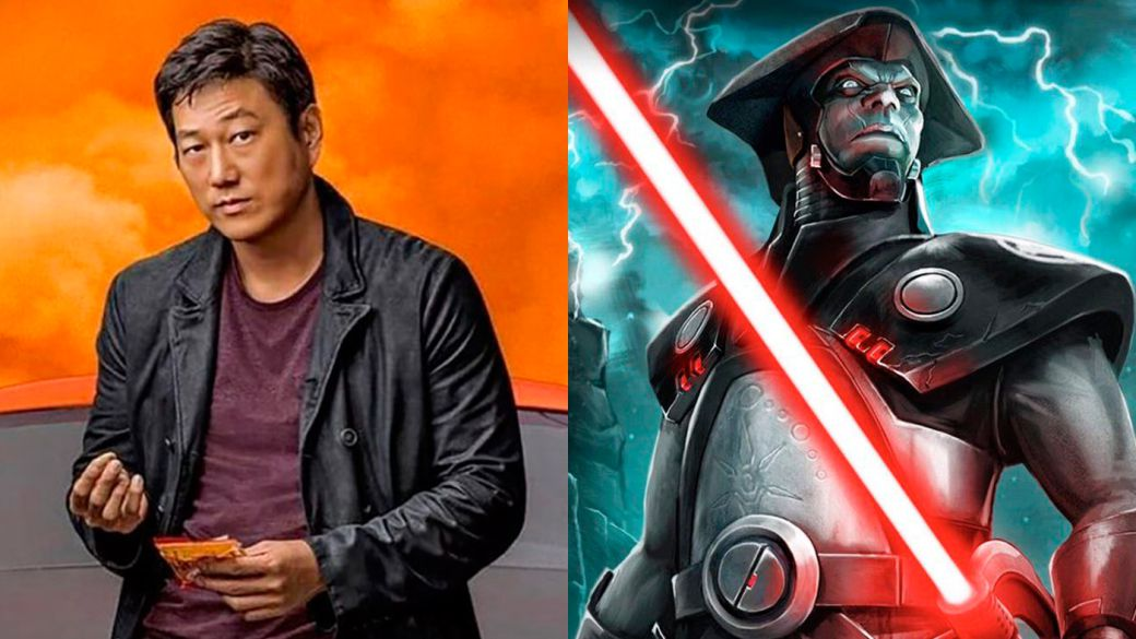Actor Sung Kang (Fast 9) uses a lightsaber in the series Obi-Wan: The Fifth Brother?