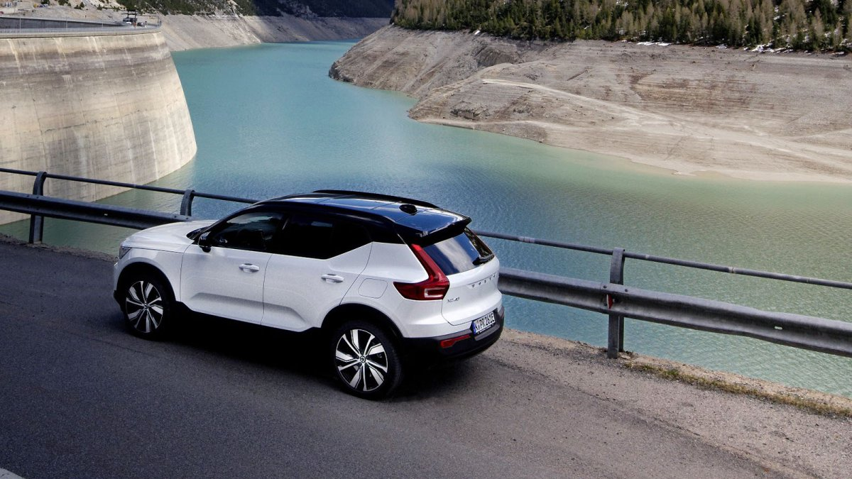 Electric car Volvo XC40 Recharge: Less power, oddly calculated