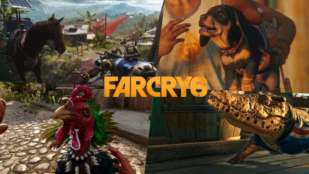 Far Cry 6 teaches us to pet animals in a new video gameplay