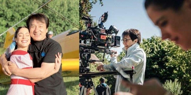 When will Tini Stoessel's movie with Jackie Chan be released?