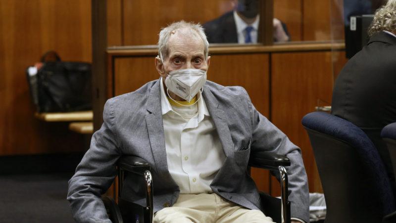 Declaran culpable al multimillonario Robert Durst por el asesinato de su mejor amiga en 2000