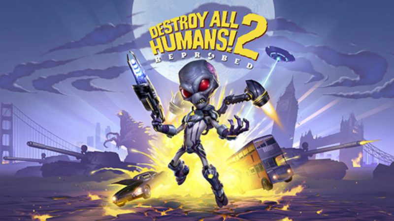Destroy All Humans 2!  Reprobed: sequel remake announced for PC, PS5 and Xbox