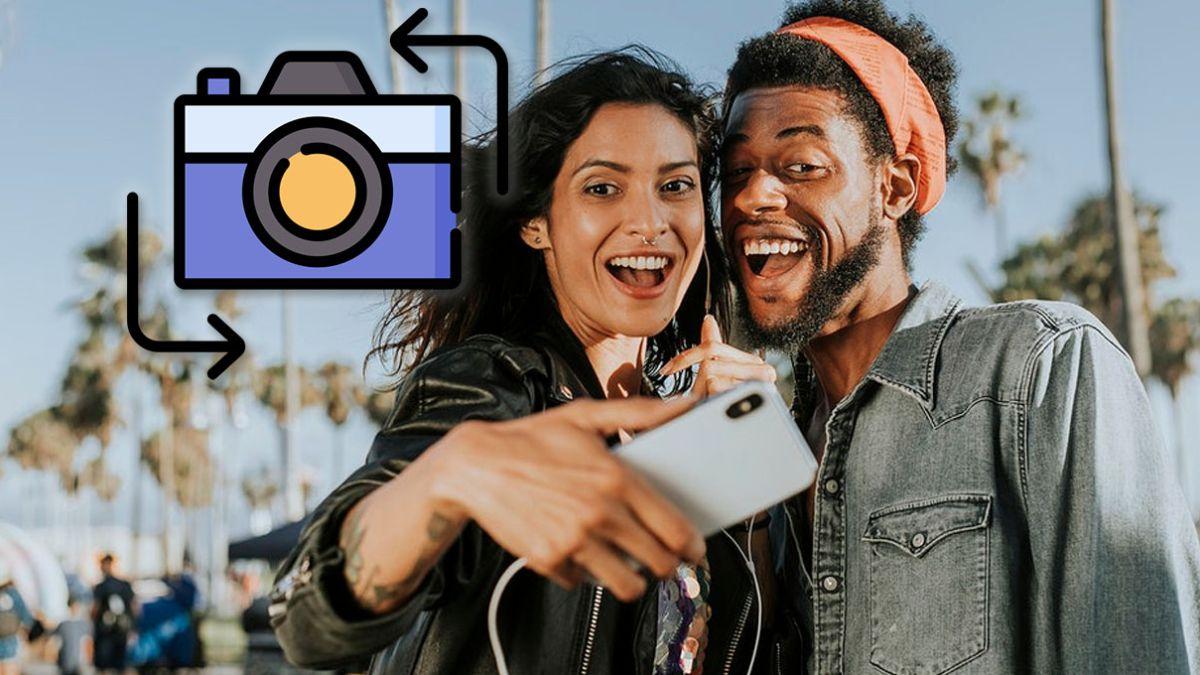 Cómo cambiar de una cámara a otra en tu móvil mientras grabas un vídeo