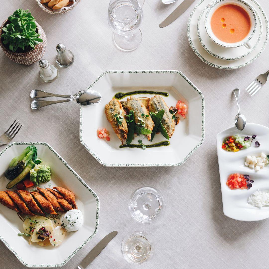 Some of dishes / Photo: La Bobadilla