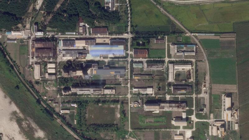 Nuevas imágenes por satélite demuestran que Corea del Norte amplia una planta de enriquecimiento de uranio
