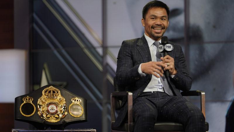 El boxeador Manny Pacquiao es designado por el partido gobernante de Filipinas como candidato a las presidenciales de 2022