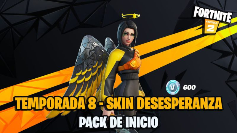 Fortnite Season 8: Starter Pack Now Available;  this is the despair skin