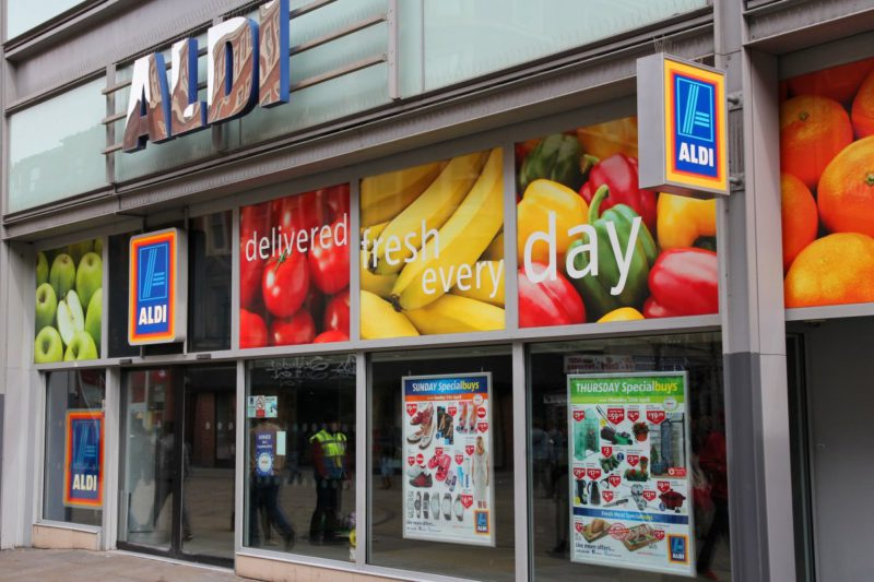 Aldi tests business without a cash register in London